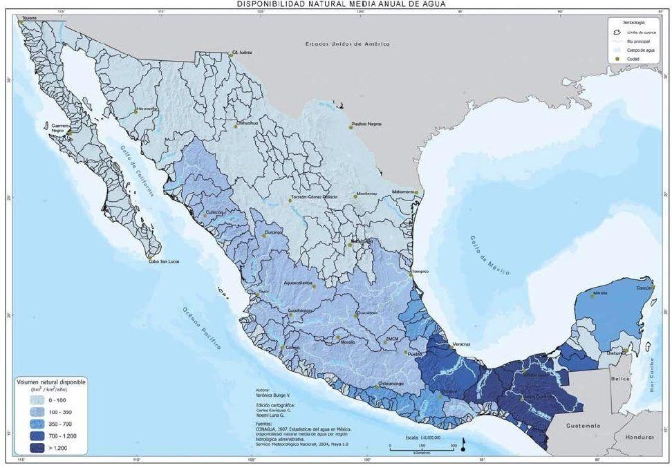 Visi n general del agua for Bungalows sobre el agua en mexico