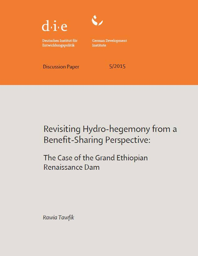 Revisiting Hydro-hegemony from a Benefit-Sharing Perspective: The Case of the Grand Ethiopian Renaissance Dam